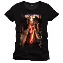 T-Shirt Flash In The Town - poster The CW