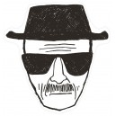 Tapis Heisenberg 80x84cm - Breaking Bad