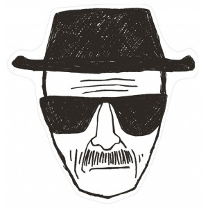 Paillasson Breaking Bad - Heisenberg : I am the one who knocks