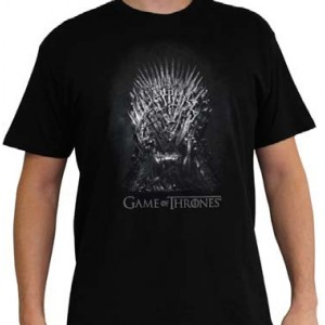 "T-Shirt Game Of Thrones, ""Iron Throne"""
