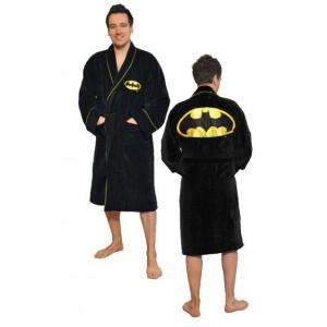 Peignoir polaire Batman logo