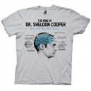 T-shirt The Mind of Sheldon Cooper