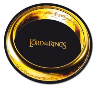 "Tapis de Souris Lord Of Thr Ring, ""The Ring"""