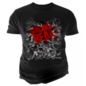 T-Shirt The Walking Dead : Horde