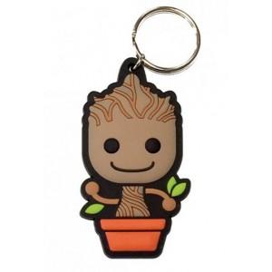 Porte-clés Baby Groot caoutchouc 6cm - Gardiens de la Galaxie