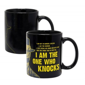 Mug Breaking Bad avec décor thermique I Am The One Who Knocks