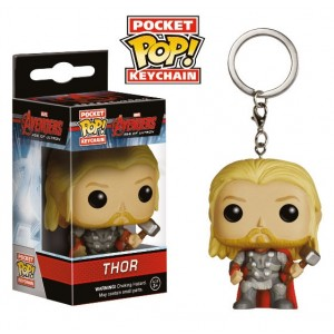 Porte-cl�s Thor de The Avengers version POP! Vinyl