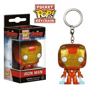 Porte-clés Iron Man - Avengers 2 - version POP! Vinyl