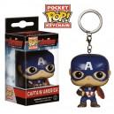 Porte-clés Captain America version POP! Vinyl - Avengers 2