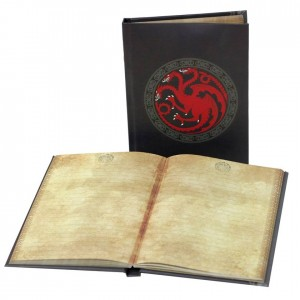 Bloc-notes Lumineux Targaryen Notebook - Game of Thrones