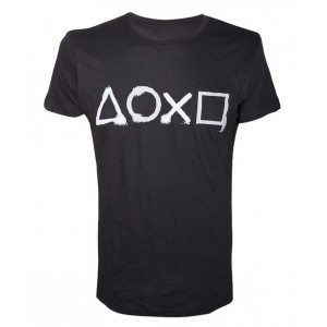T-shirt Sony PlayStation : Buttons Artwork