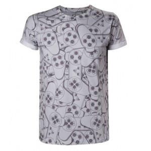 T-shirt Sony PlayStation : Controller All Over