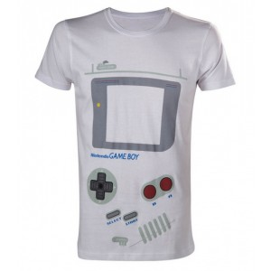 Gam Boy t-shirt Nintendo white