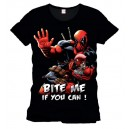 Deadpool t-shirt : bite me if you can