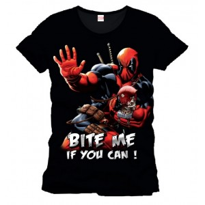 T-Shirt Deadpool Bite Me