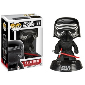 Figurine Kylo Ren Exclusive Bobble-Head Pop! Vinyle