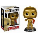 Figurine C-3PO avec bras rouge Pop! Vinyl Star Wars VII