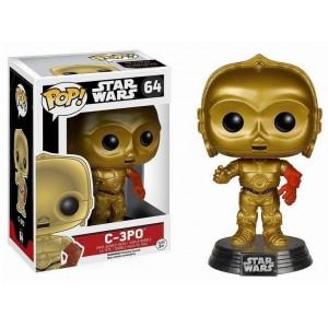 Figurine C-3PO avec bras rouge Pop! Vinyle Star Wars VII