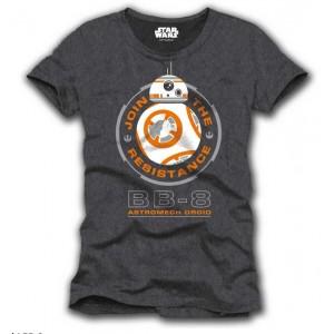 T-shirt BB-8 gris