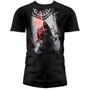 T-shirt Homme First Order Noir
