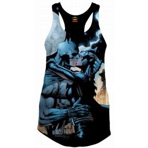 Half-Batman Half-Joker T-shirt | Arkham Origins video game