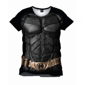 Half-Batman Half-Joker T-shirt | Arkham Origins video game