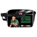 Sheldon Cooper I am immune Messenger Bag from The Big Bang Theory