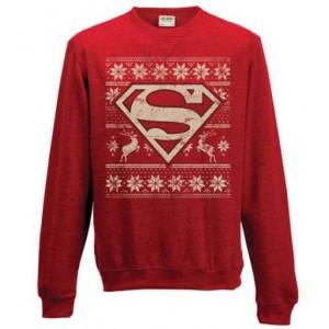 Sweat Superman de Noël - DC Comics