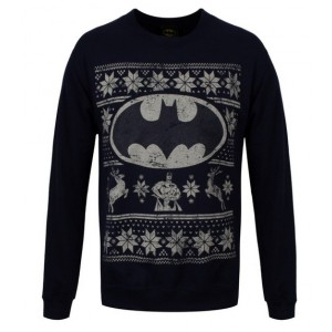 Sweat Batman de Noël - DC Comics
