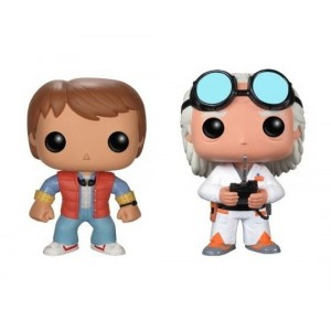 Pack of 2 Back to the future Pop!