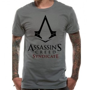 T-shirt gris Assassin's Creed Syndicate Logo