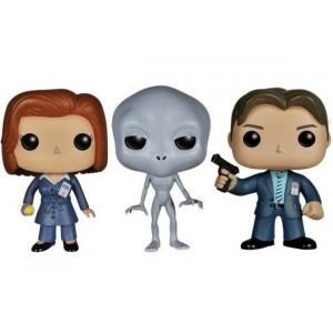 Pack X-Files de 3 figurines Pop! Vinyl 10cm