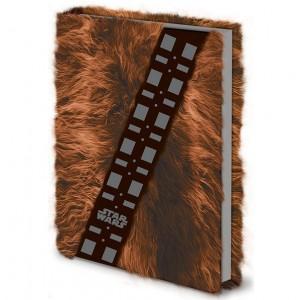 Carnet Chewbacca avec fourrure Premium A5