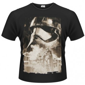 T-shirt Captain Phasma Poster Star Wars 7