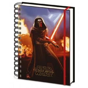 Lenticular Notebook A5 Kylo Ren