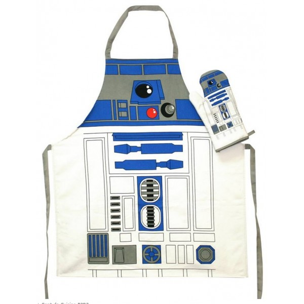 Set de cuisine r2 d2 for Tablier de cuisine star wars