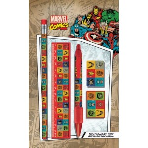 Set de papeterie Marvel Retro B 5 pi�ces