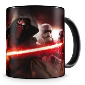 Mug Kylo Ren et First Order Stormtroopers en céramique