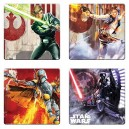 Set of 4 Star Wars coasters