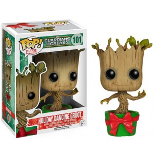 Figurine Dancing Groot Holiday Cadeau Pop! Vinyl