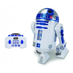 V�hicule radiocommand� R2-D2 Interactive  sonore et lumineux  45 cm - Star Wars VII