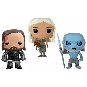 Pack 3 figurines Game Of Thrones (Pop! Vinyle)