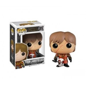 Pop! Vinyl Tyron Lannister in battle armor figure 10cm