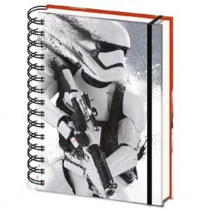 Cahier à spirale Stormtrooper First Order A5