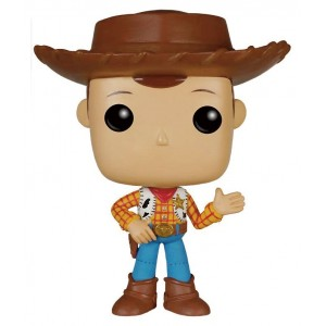 Pop! Vinyl Woody figure from Toy Story 20th anniversary