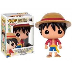 Figurine Monkey D. Luffy Pop! Vinyl 9cm