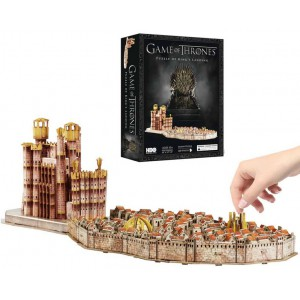 Puzzle 3d king 39 s landing de game of thrones 260 pi ces 4d cityscape f - Objet game of thrones ...