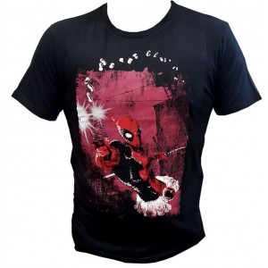 Deadpool T-Shirt Shotgun