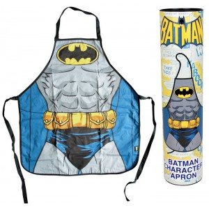Batman torso kitchen apron