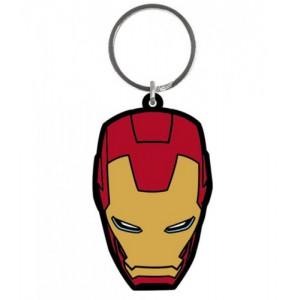 Porte-clé Iron Man 6cm caoutchouc
